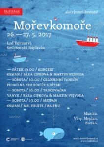 Mořevkomoře: sla(v)nosti Bretaně 2017 / Fête de la Bretagne @ Loď Tajemství & smíchovská náplavka | Praha | Czechia